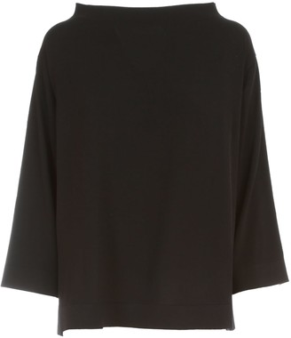 Liviana Conti Wide Sweater Boat Neck