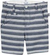 Splendid Woven Stripe Shorts (Toddler/Kid) - Stripe-7