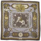 One Kings Lane Vintage Hermès Ludovicus Magnus Scarf