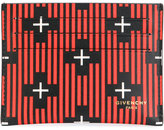 Givenchy stripe cross cardholder