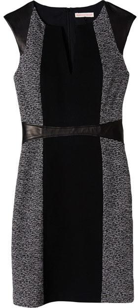 Rebecca Taylor Tweed & Twill Dress