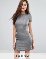 Club L T-Shirt Mini Dress