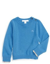 Burberry Infant Boy's 'Gethin' Cashmere Sweater