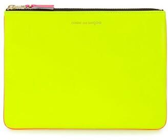 Comme des Garcons Colour-Block Zipped Wallet