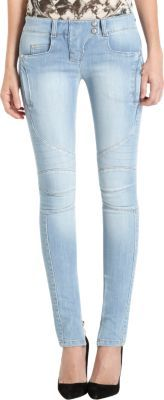 Balmain Moto Jean