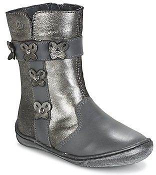 Citrouille et Compagnie HATOU girls's High Boots in Grey