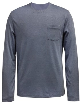 Alfani Men's AlfaTech Long-Sleeve Pocket T-Shirt, Created for Macy's