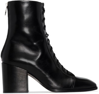 AEYDĒ Lotta 75mm ankle boots