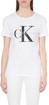 Calvin Klein Logo-print cotton-jersey t-shirt
