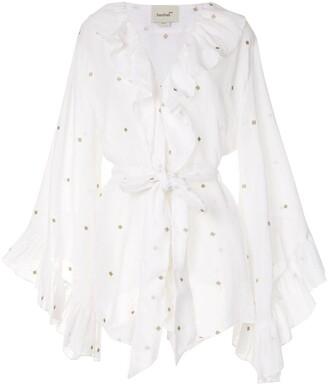Bambah Ruffled Mini Dress