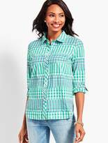 Talbots The Classic Casual Shirt - Desert Ikat