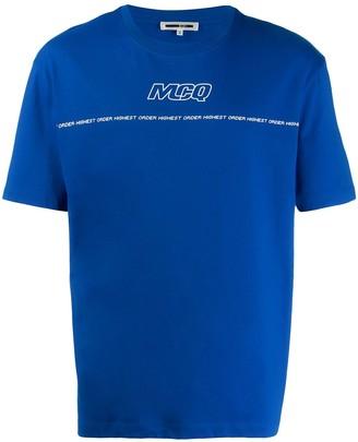 McQ printed crew neck T-shirt