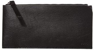 Ecco Signature Line Travel Wallet (Black) Wallet Handbags
