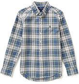 Ralph Lauren Little Boys 2T-7 Plaid Poplin Shirt