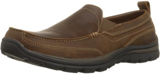Skechers USA Men's Relaxed Fit Memory Foam Superior Gains Slip-On 7 XW US