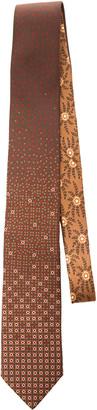 Prada Bean-Print Silk Tie