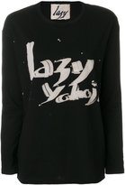 Yohji Yamamoto Lazy Yohji sweatshirt