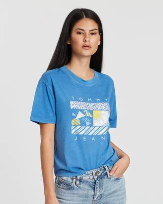 Tommy Jeans Summer Surf Flag Tee