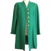 Chloé Green Linen Coat