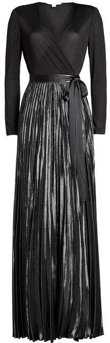 Diane von Furstenberg Wrap Gown with Bow