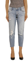 Articles of Society Joplin Relaxed Jean With Fray Edge