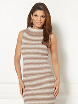 New York & Co. Eva Mendes Collection - Luana Stripe Sleeveless Sweater