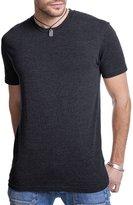Next Level Men's Rib Collar Tri Blend T-Shirt