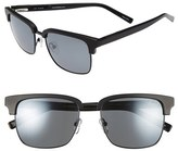 Ted Baker Men's 54Mm Polarized Retro Sunglasses - Black Matte