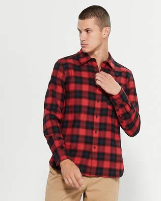 Ovadia & Sons Max Hunter Plaid Long Sleeve Sport Shirt