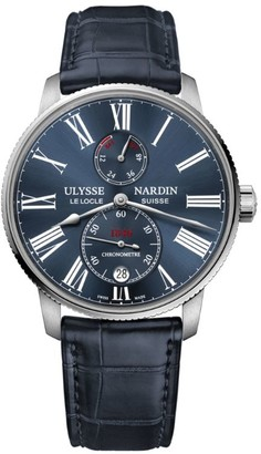Ulysse Nardin Stainless Steel Marine Torpilleur Automatic Watch 42mm