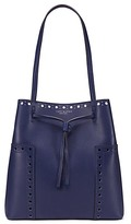 Tory Burch Block-T Brogue Drawstring Tote