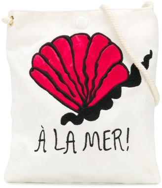 Mini Rodini A La Mer tote bag