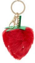 Forever 21 FOREVER 21+ Fuzzy Strawberry Keychain