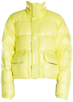 Unravel Project Shiny Puffer Jacket