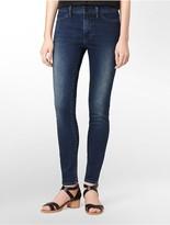 Calvin Klein Mid-Rise Deep Ocean Wash Leggings