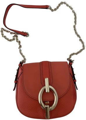 Diane von Furstenberg Orange Leather Handbags