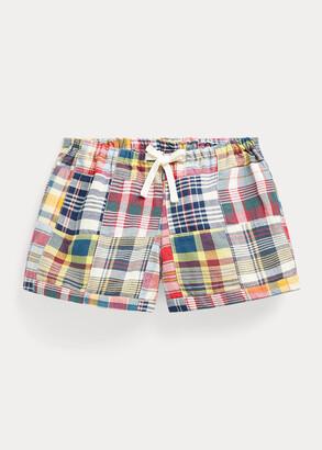 Ralph Lauren Patchwork Cotton Madras Short