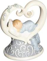 "Gund Baby Legacy of Love Figurine, Blue, 3.875"""