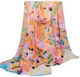 TONSEE Women Fashion Scarves-long Chiffon Scarf Wrap
