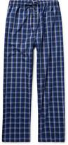 Derek Rose Barker Checked Cotton Pyjama Trousers