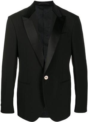 Versace Single-Breasted Blazer Jacket