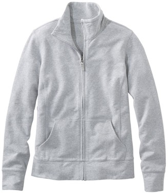 L.L. Bean Women's Ultrasoft Sweats, Full-Zip Mock-Neck Jacket