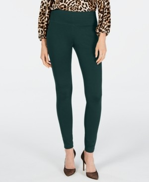INC International Concepts Inc Pull-On Ponte Skinny Pants, Created for Macy's