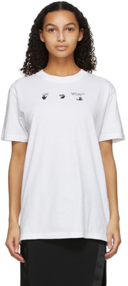 Off-White White Peace Worldwide T-Shirt