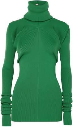 Marni Ribbed-knit Turtleneck Sweater