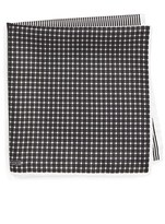 Nordstrom Panel Silk Pocket Square