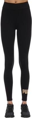 Puma Select Ess Logo Stretch Cotton Leggings
