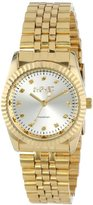 August Steiner Women's AS8046YG Diamond Stainless Steel Bracelet Watch