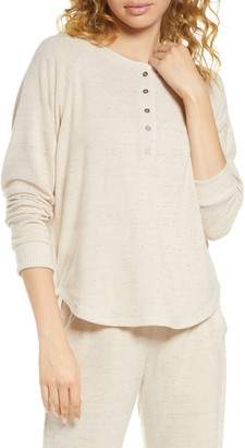 Project Social T Lounge Henley Top