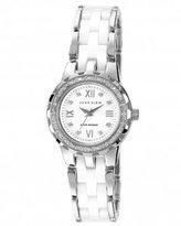 Anne Klein Women's 109457WTSV Swarovski Crystal-Accented Watch